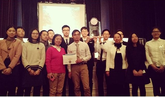 Congrats to Shenzhen Middle School (China) for winning the #USAYPT 2016 physics tournament at #RandolphCollege!
