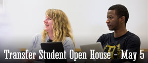 Transfer Student Open House - May 5