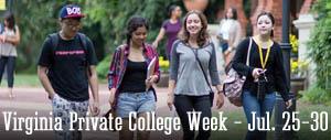 Virginia Private College Week - July 25-30, 2016