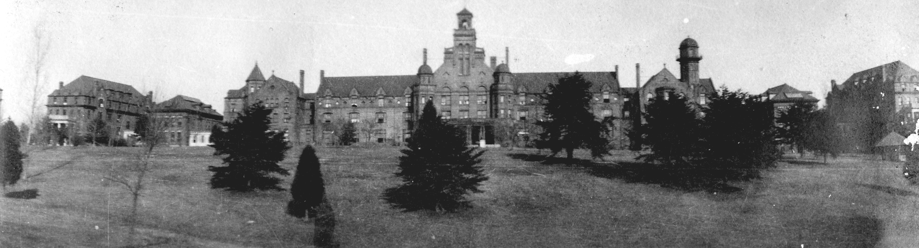 Photo of Randolph College in the early 1900s.