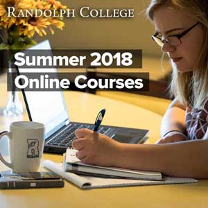 Randolph College - Summer 2018 Online Courses