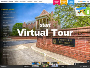 Link  - Take a Virtual Tour of Randolph College