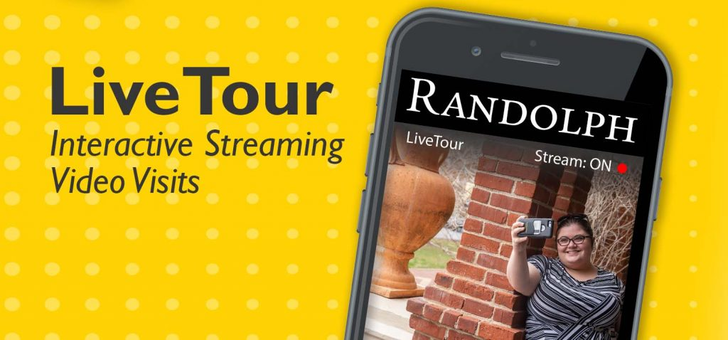 Live Tour interactive streaming video visits