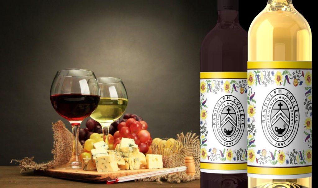Commemorative reunion wine.