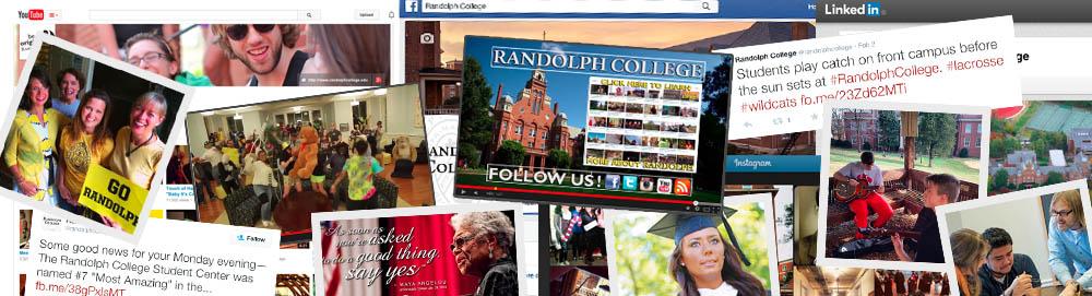 Randolph College Social Media