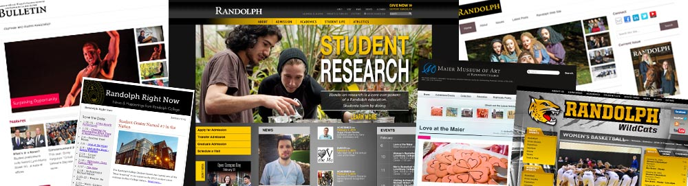 Randolph College Web Sites