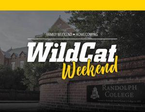 downloadable P D F WildCat Weekend Sign version 1