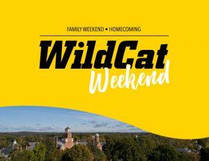 downloadable P D F WildCat Weekend Sign version 2