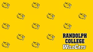 Randolph College WildCats - cat head pattern