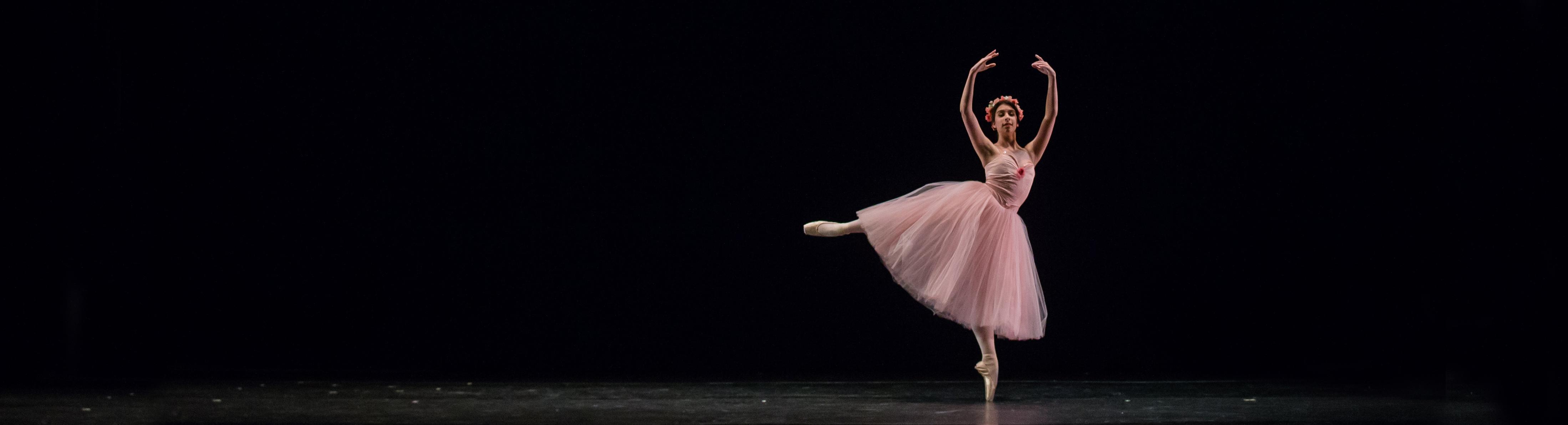 Dancer performing