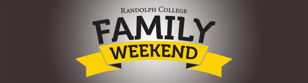 Randolph College Family Weekend header