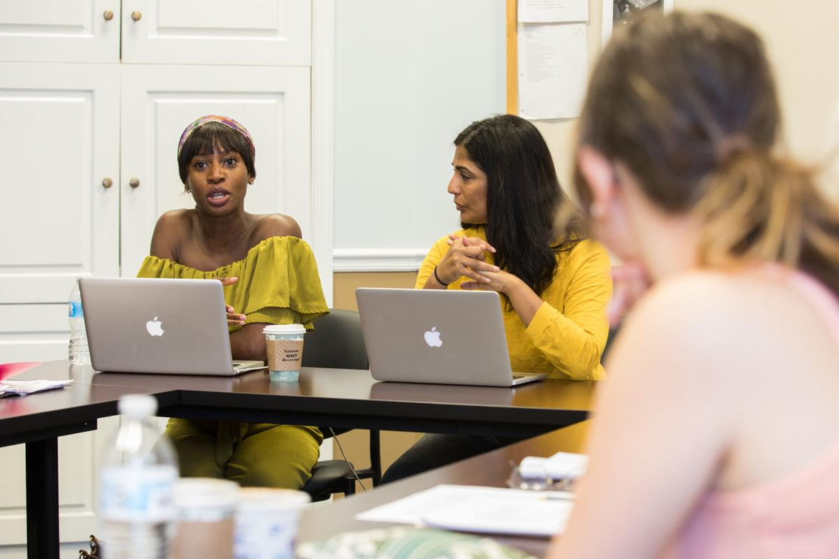 Visiting writer and former MFA faculty member Wayétu Moore.