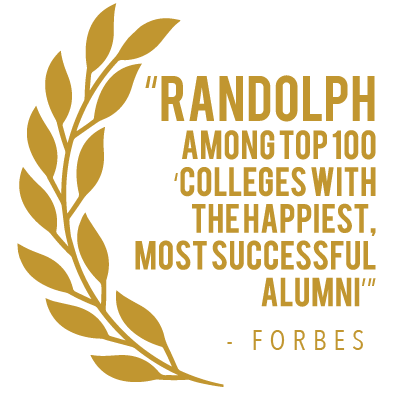 Forbes ranked Randolph College in the Top 100 Colleges with the Happiest, Most Successful Alumni.