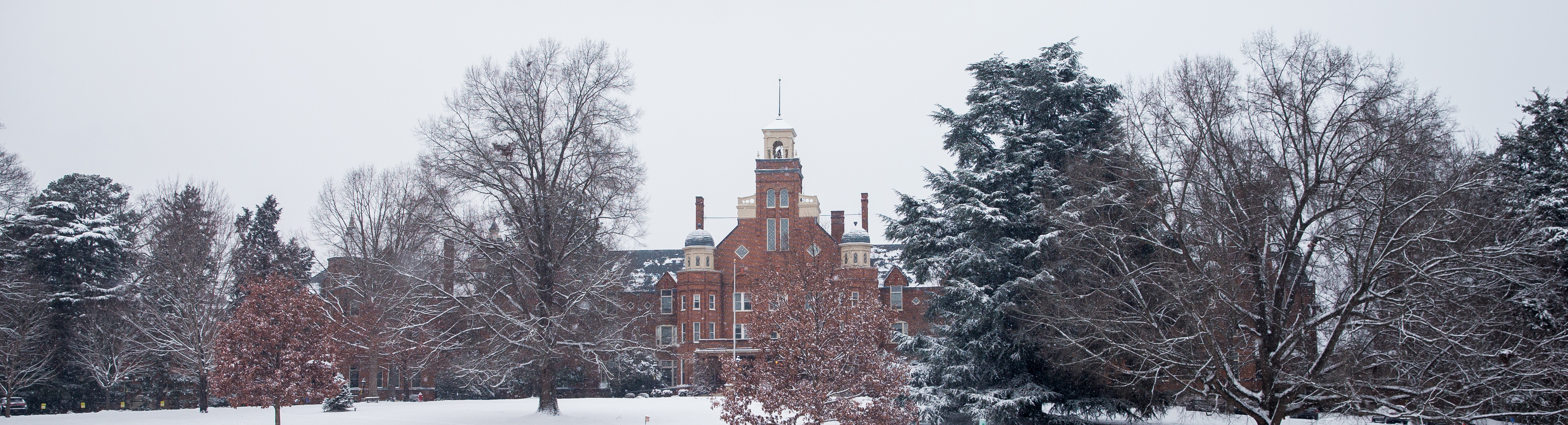 Photo of Main Hall in the snow