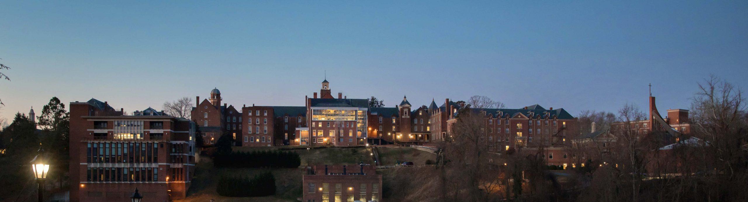 Photo of Main Hall at night