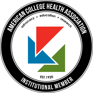 Badge.  American College Health Association - Institutional Member