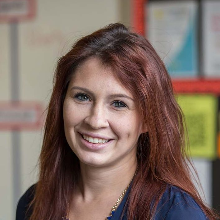 Caitlin Unterman '12, '13 M.A.T. Science Teacher, Forest Middle School; Voted Lynchburg's ``Top Teacher`` 2016, <em>Lynchburg Living</em> magazine