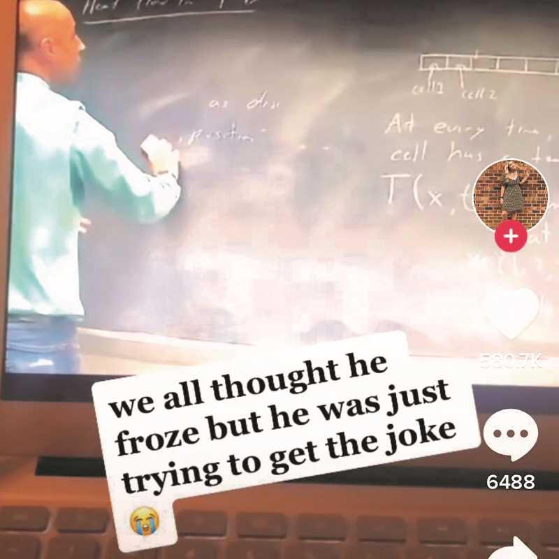 Math professor Marc Ordower became Instafamous on TikTok.