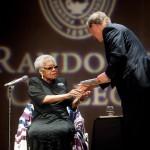 Maya Angelou speaks at Randolph College