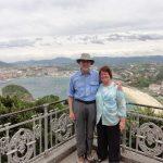 Photo of Rick and Tina Barns at sea
