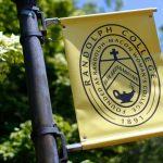 Photo of Randolph College flag