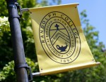 Photo of Randolph College flag