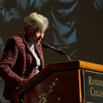 Margit Meissner speaks about her experience as a holocaust survivor, October 7, 2014.