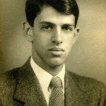 Old photo of Carl Stern