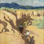 Through the Arroyo by Ernest Martin Hennings