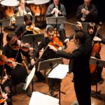 Randall Speer conducts the Randolph College Chamber Orchestra
