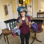 Leah Hughes '17 and the Student-Athlete Advisory Committee are conducting a hat drive for Ellie's Hats. The drive is also a competition between the Even and Odd classes.