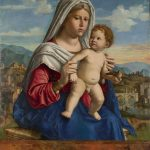 Giovanni Battista Cima da Conegliano, The Virgin and the Child (from the National Gallery, London)