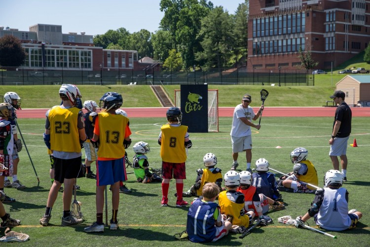 Photo from lacrosse camp