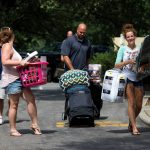 Move-in day at Randolph College.