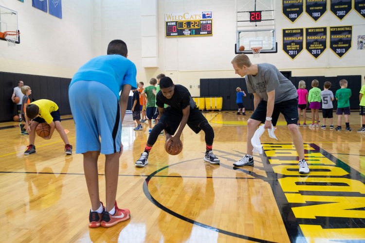 Randolph College Skill Builder Hoop Camp