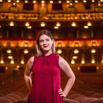 Jessica Burroughs '18 at the Lyric Opera of Chicago.