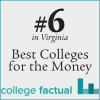College Factual ranking badge