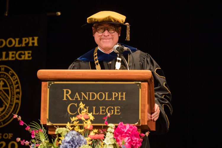 President Bradley W. Bateman speaks at Convocation