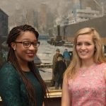 Seisha Scott '16 and Elisabeth Price '16