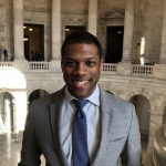 Rashan Colbert works in the U.S. Capitol as a research aide for U.S. Sen. Cory Booker