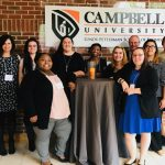 Psychology students and faculty at the Carolinas Psychology Conference at Campbell University