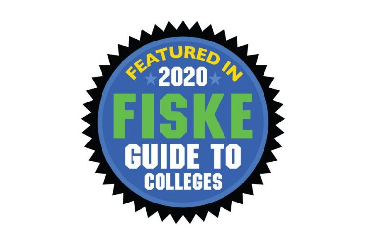 Featured in 2020 Fiske Guide to Colleges