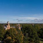 Aerial photo of the Randolph campus