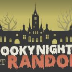 Poster for Spooky Night at Randolph event