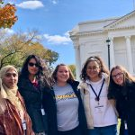 The five participating students from Randolph were (from left): Maida Choudhery '20, Mayrani Chavez Garcia '21, Lauren Appel '20, Keyu Jin '20, and Andrea Wilson '20.