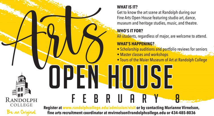 Graphic for Arts Open House