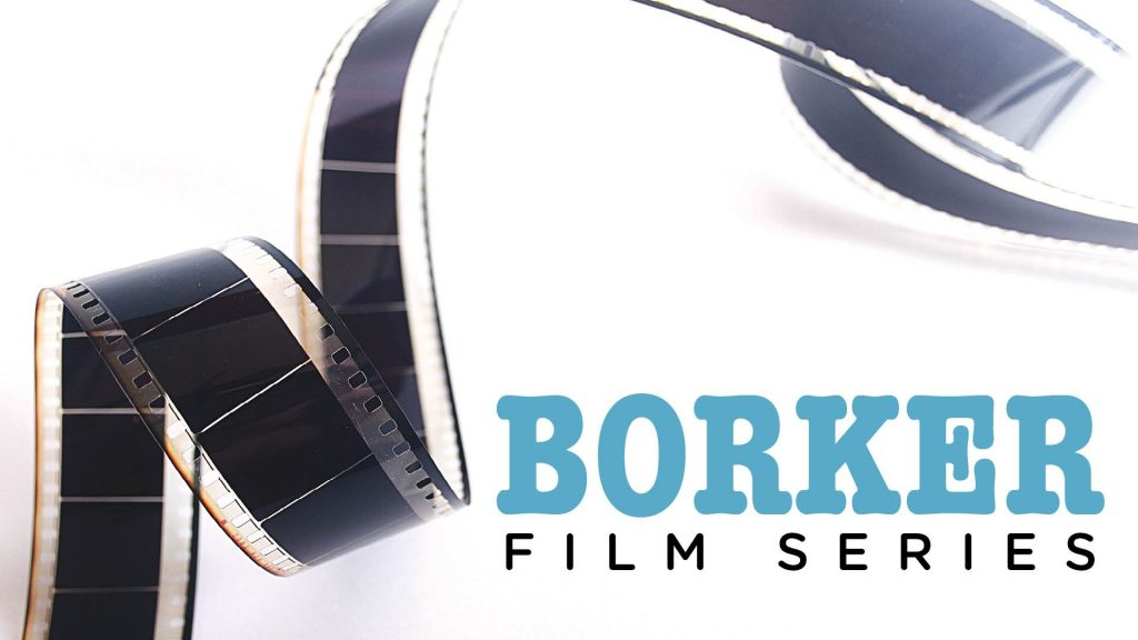 Flyer for Borker Film Series