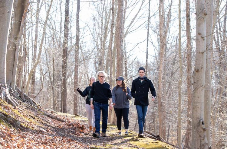Philosophy professor David Schwartz incorporated his rewilding research into a Randolph course this year.