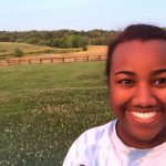 Tyrah Cobb-Davis '19 has conducted restoration work at various sites in Virginia and Maryland as part of her work with the Chesapeake Conservation Corps.