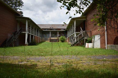 The Lincoln Heights Rosenwald School in Wilkesboro, North Carolina